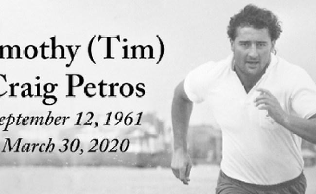 Timothy Petros Obituary Calgary Herald