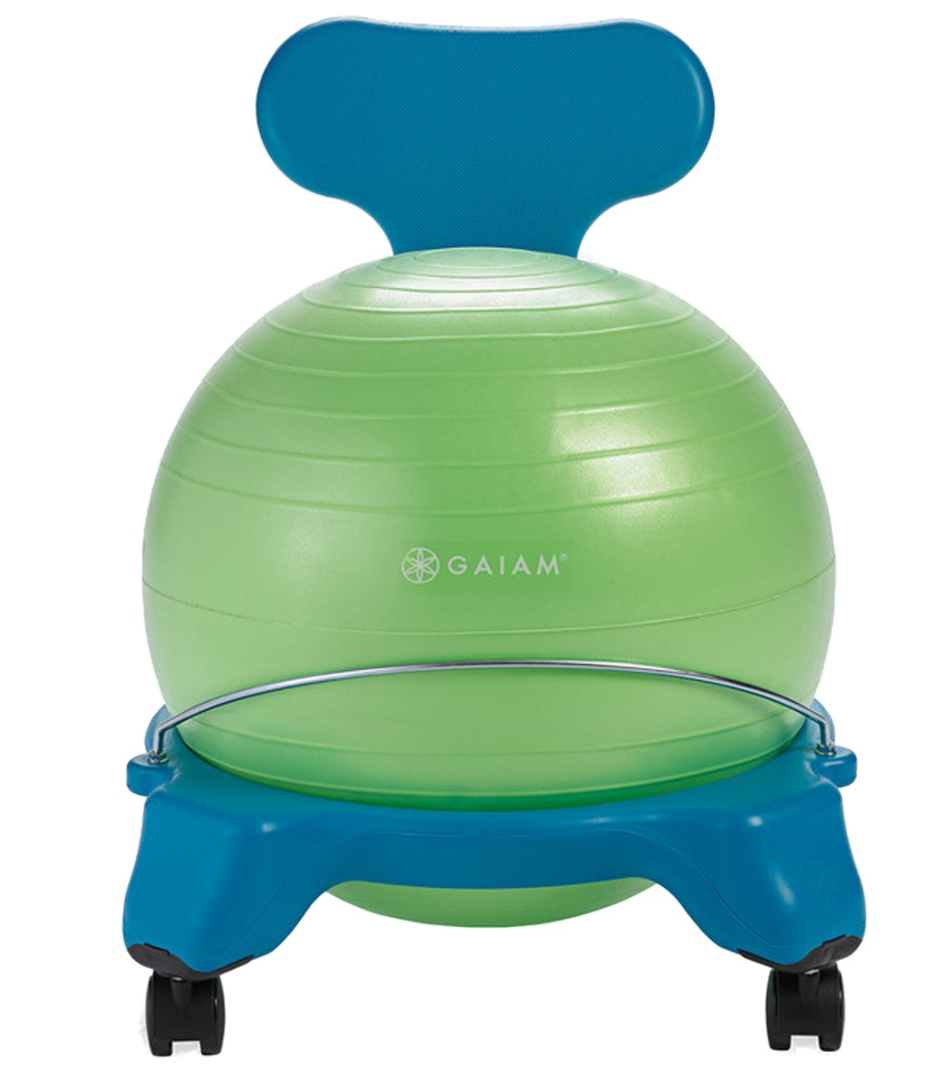 Gaiam Balance Ball Chair Gaiam Kid 39s Yoga Balance Ball Chair At Yogaoutlet