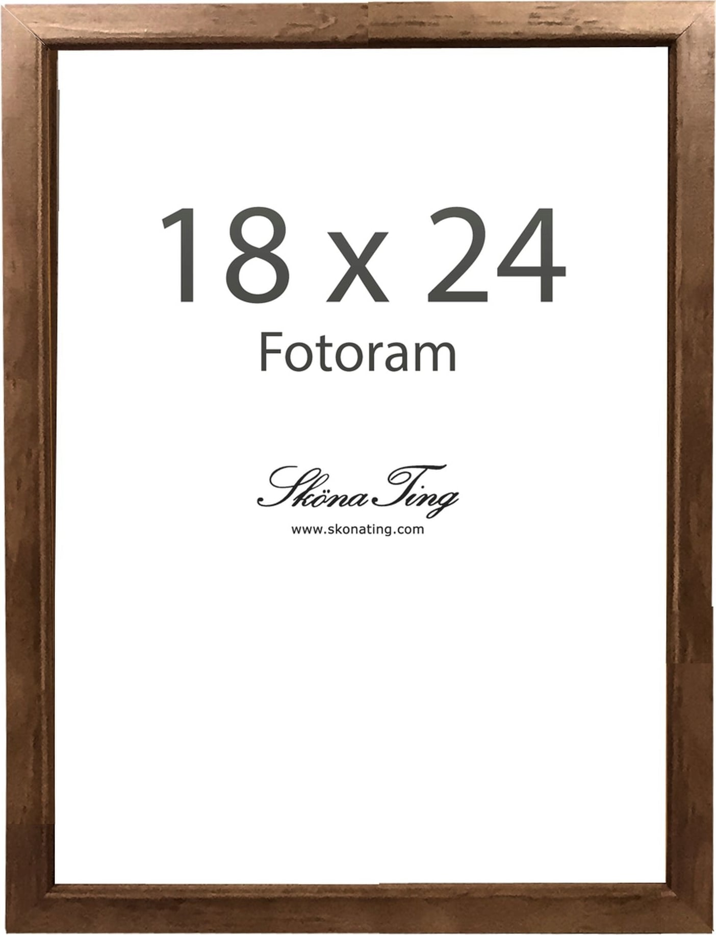 skona ting wooden picture frame 18x24 cm