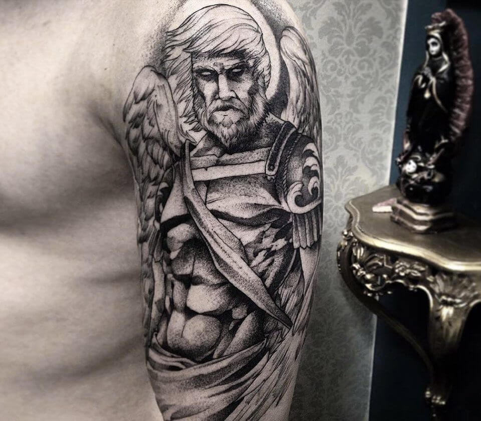 Angel Warrior Tattoo