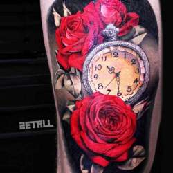 b801e3e7f Roses And Clock And Flowers | Gardening: Flower and Vegetables