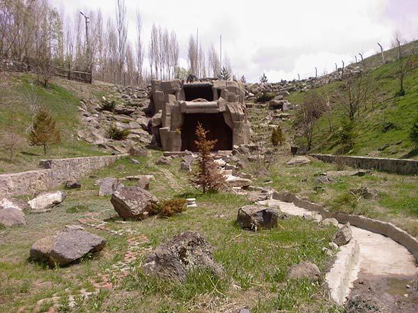 Erzurum'un doğusunda yer alan Yanık Dere