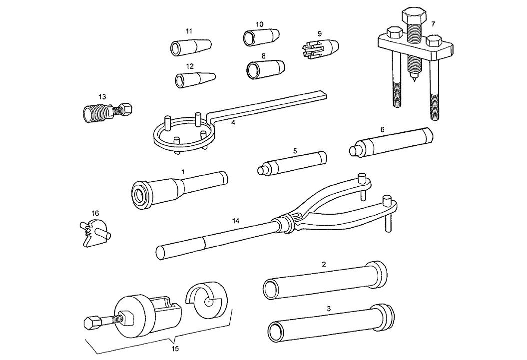 Spezialwerkzeug Derbi Bultaco Lobito 50 2T E1 1998-2000