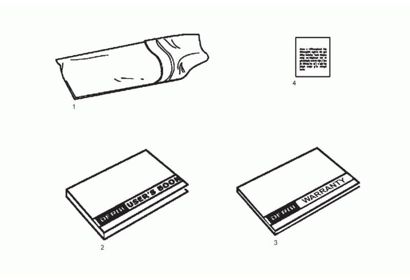 Borsa attrezzi- Manuale Derbi Senda SM 125 4T Baja E3 2010