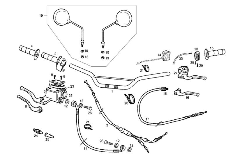 Onderdelen Derbi Senda SM 50 2T 2ª ED X-Race E2 2007-2009
