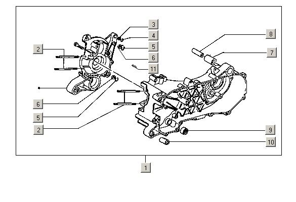 Pièces Piaggio NRG 50 2T MC2 Extreme E1 1999-2000 (EMEA