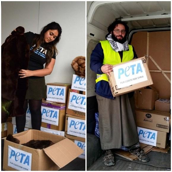 peta-doa-peles-de-animais-para-refugiados-na-siria-casacos-couro-antropocentrismo-especismo