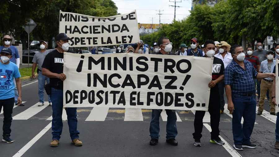 Retención del FODES por el Gobierno es maquiavélica, arbitraria y malintencionada