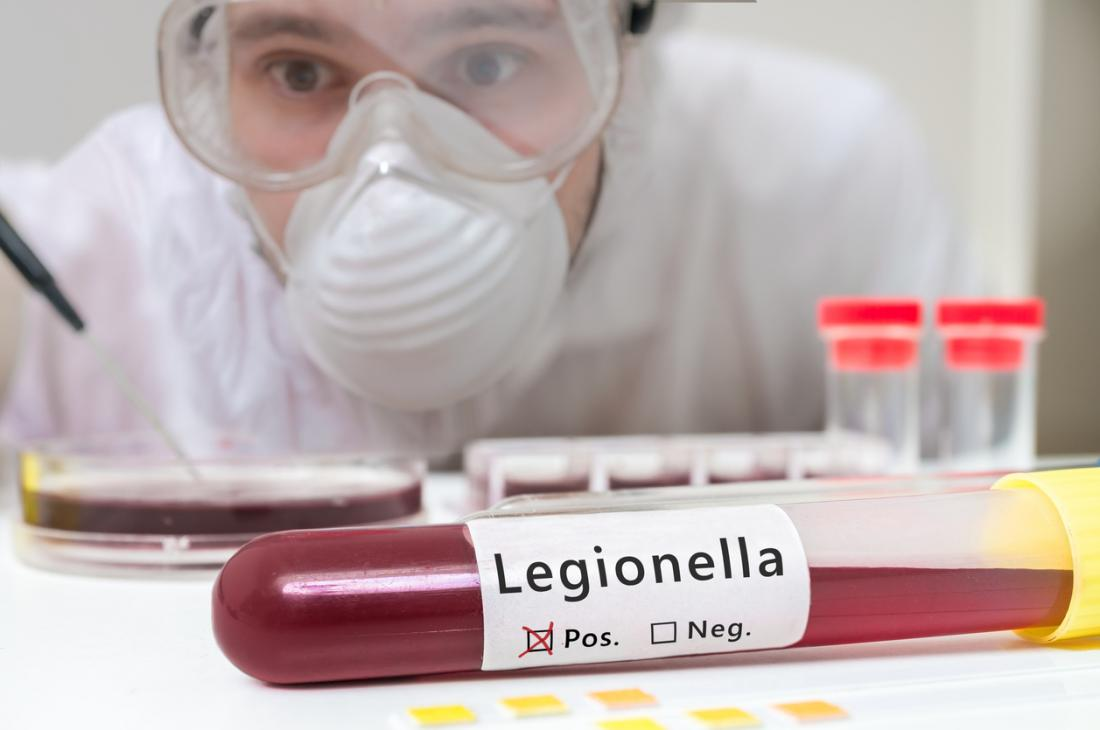 Legionnaire's disease was first recognized in 1976, and in 2015, 6,000 cases were confirmed in the U.S.