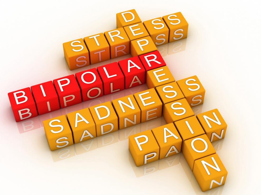 Bipolar disorder involves many mixed emotions.