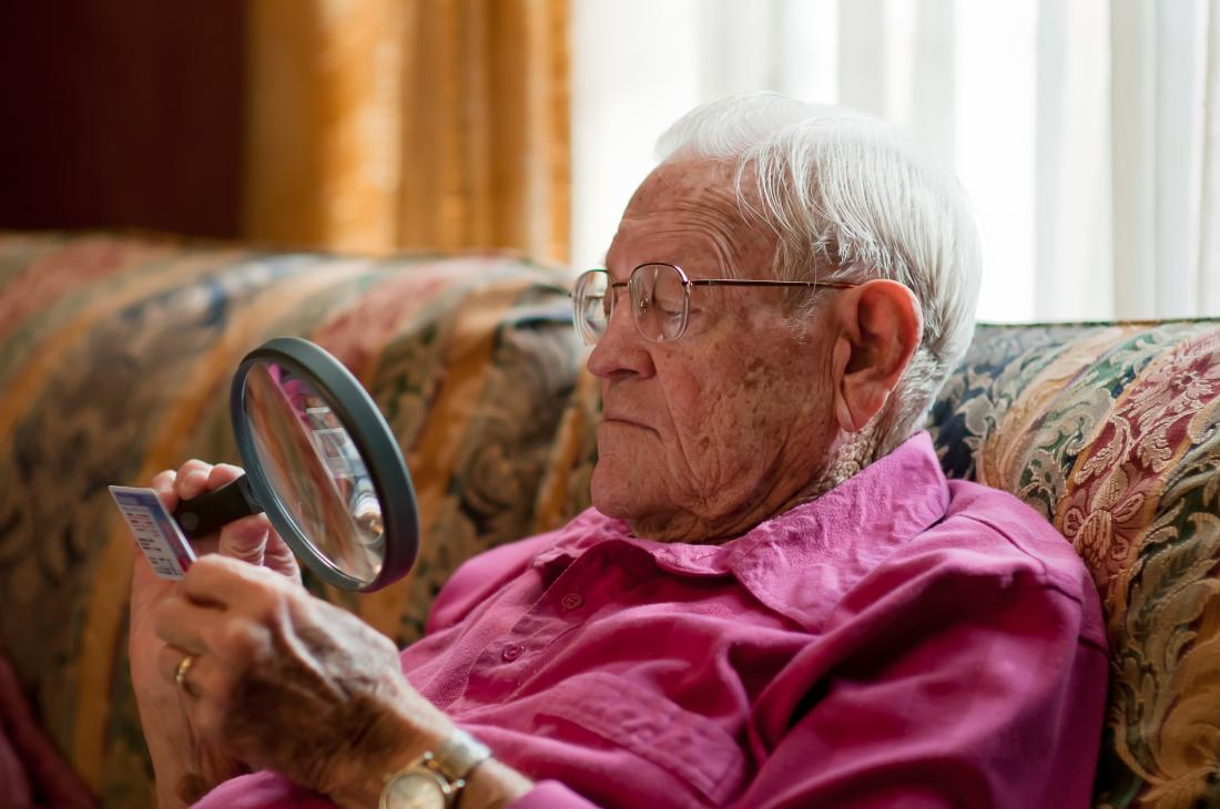 AMD can lead to a growing loss of central vision as people age.