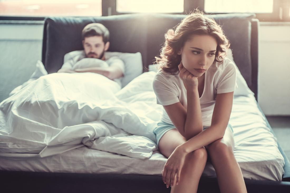 Vaginismus can lead to stress in a relationship.