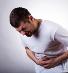 abdominal pain man [ 1100 x 734 Pixel ]