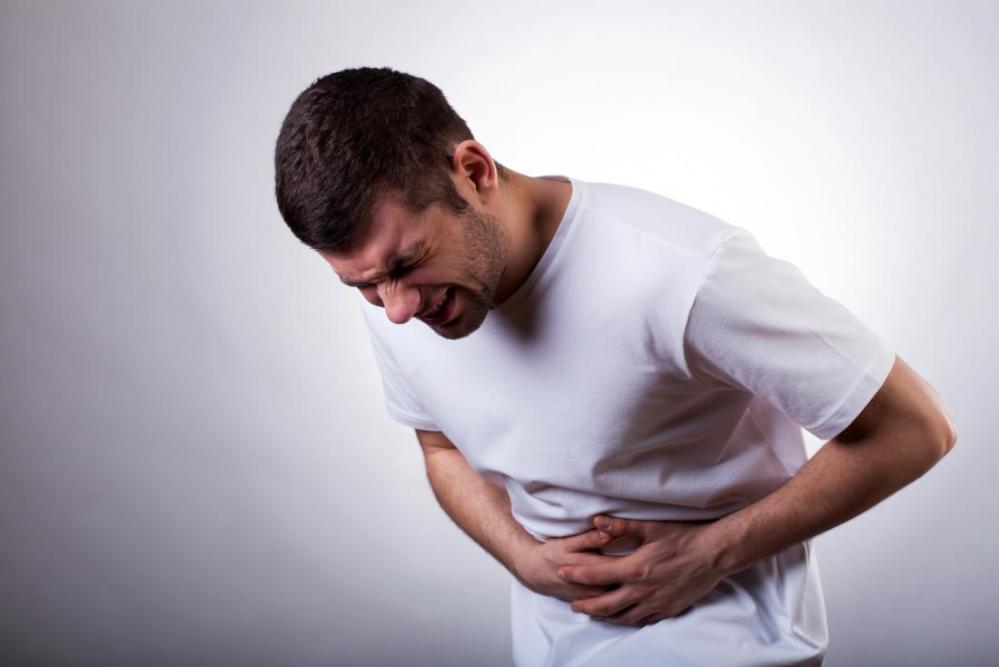 medium resolution of abdominal pain man