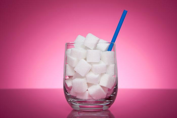 [White sugar cubes]