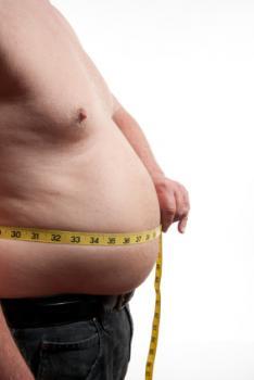 [measuring waist]