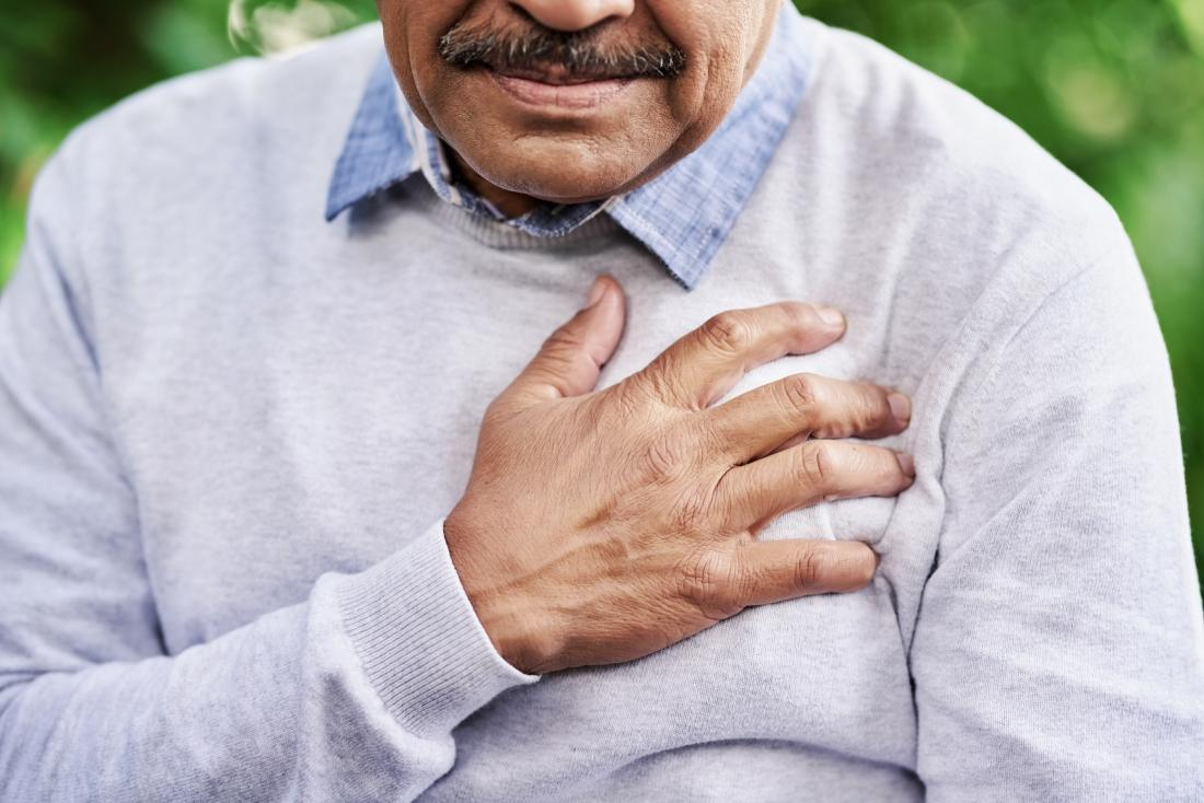 man has cardiovascular disease