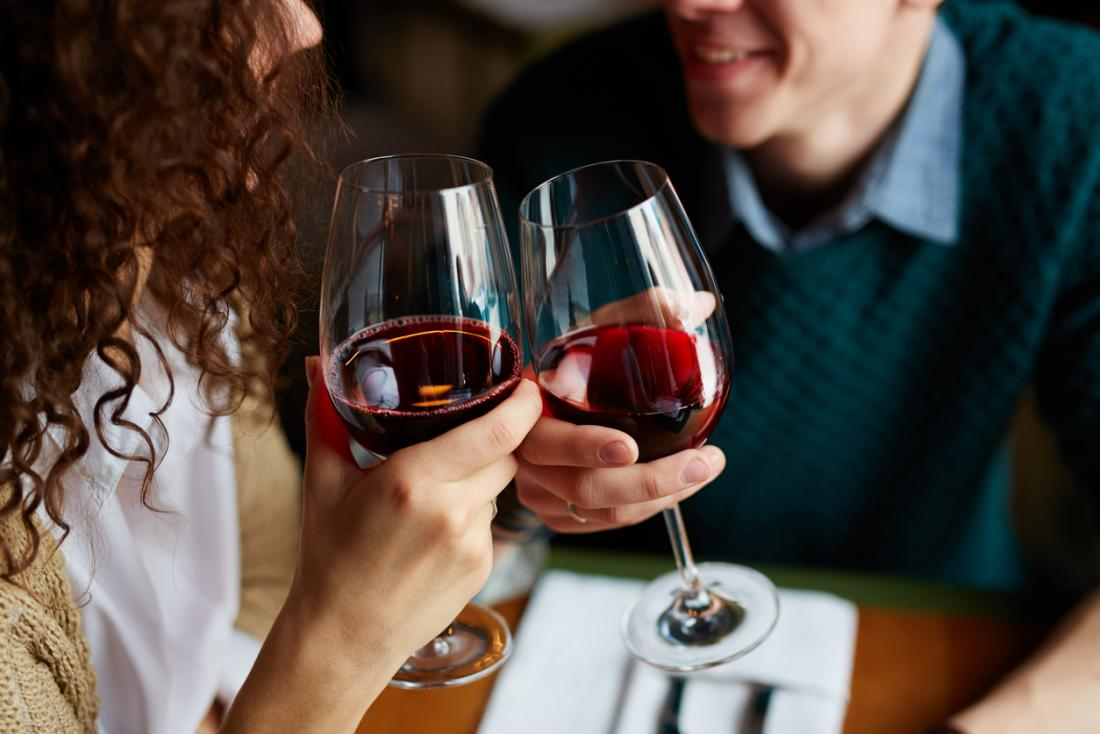 Red wine contains resveratrol, which appears to have a number of health benefits.