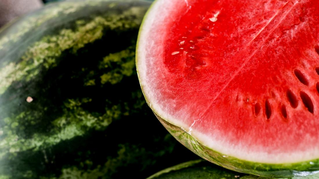 a juicy looking watermelon