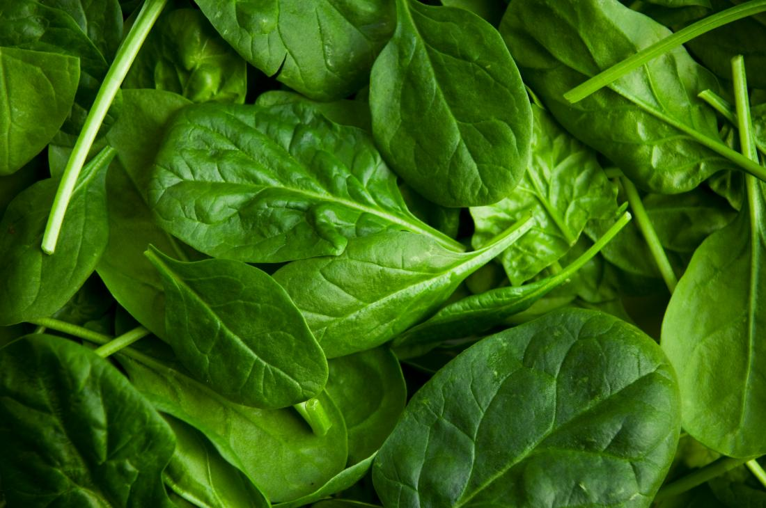 Spinach for immune system