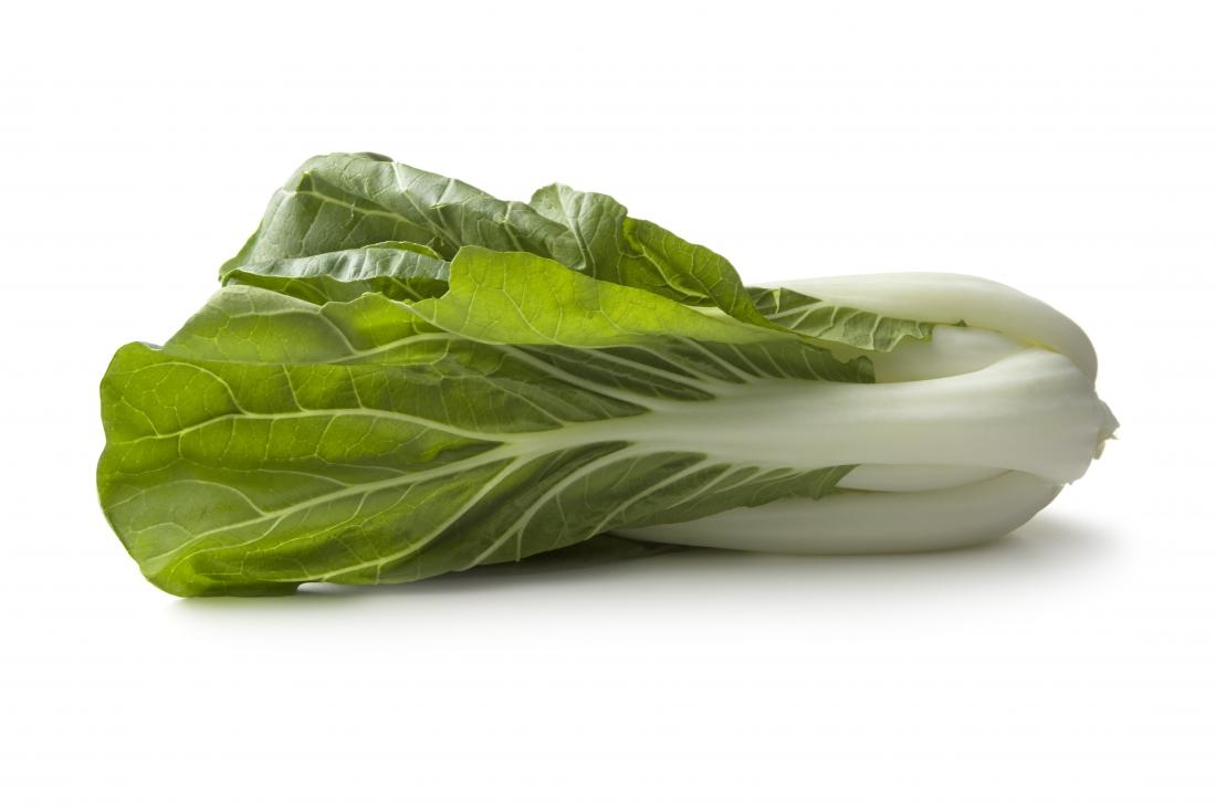 Bok choy is a cruciferous vegetable