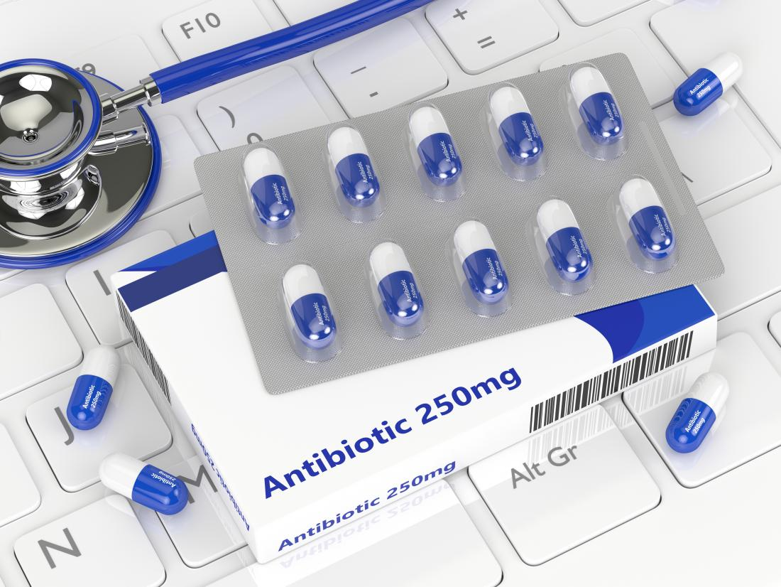 Antibiotic tablets