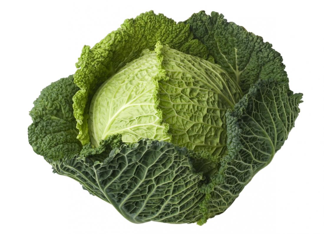 One big cabbage