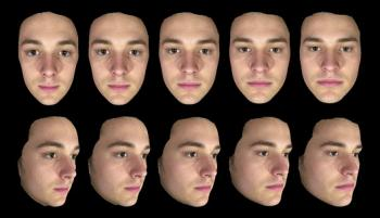 3D scans of faces