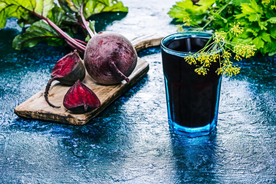 beetroot and juice