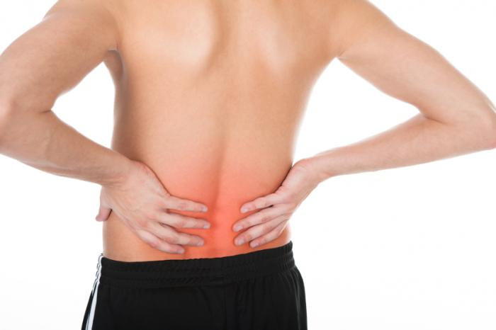 Back pain is estimated to affect 23-26% of the world.