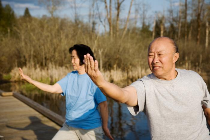 [Seniors practicing Tai Chi]