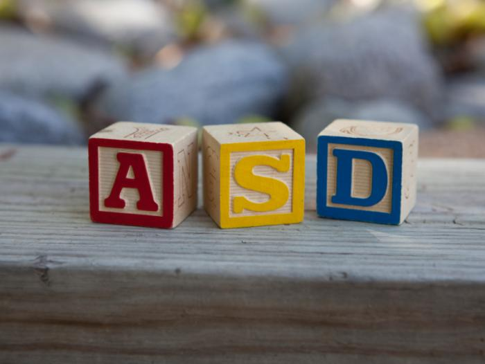 Blocks spelling ASD