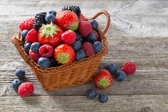 [A basket of berries]