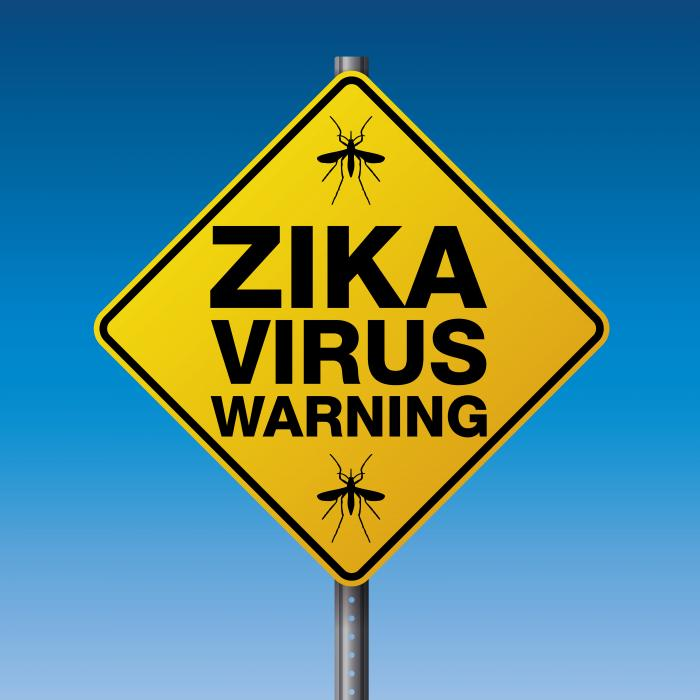 [Zika virus warning sign]