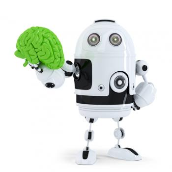 [Medical innovation robot and green brain]