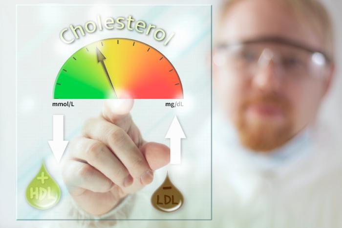 [good and bad cholesterol]