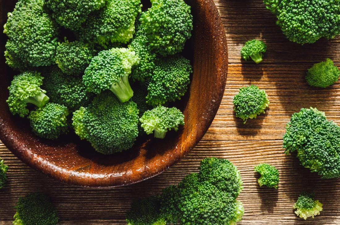 broccoli for fiber and vitamins