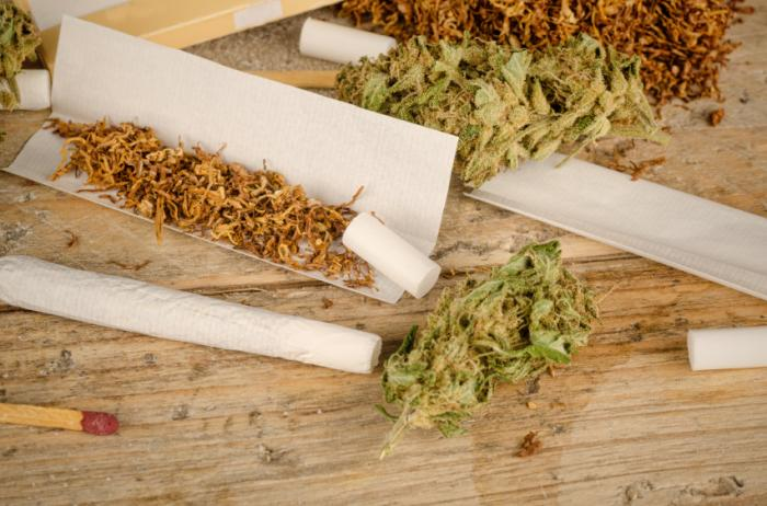 [Marijuana joints]