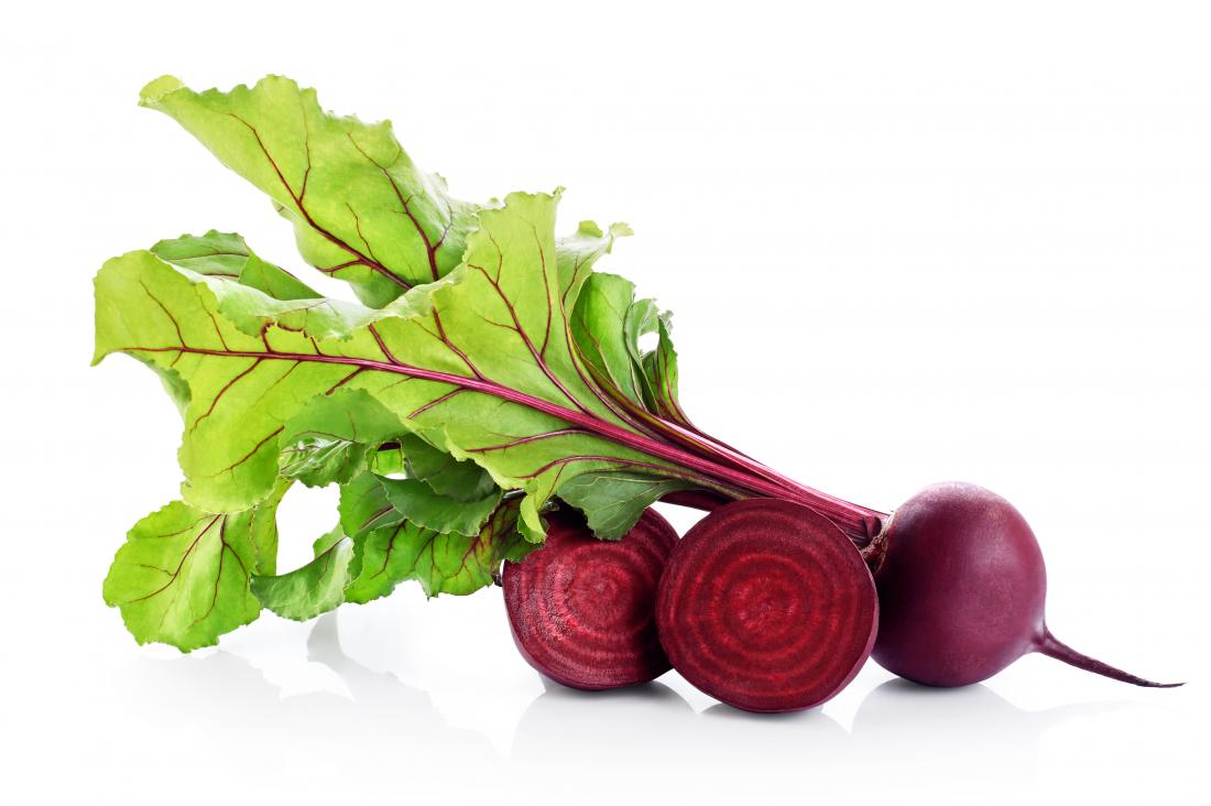 Beets can help reduce blood pressure.