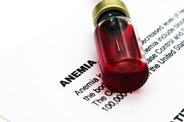 [Anemia definition and blood]