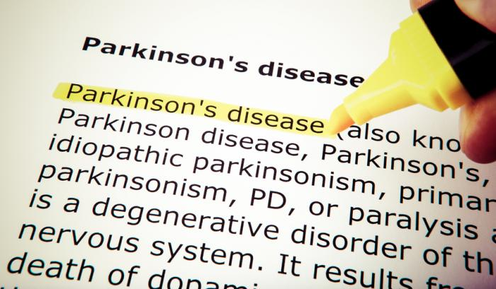 [Definition of Parkinson's disease]