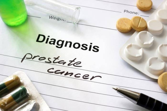 [A prostate cancer diagnosis and pills]