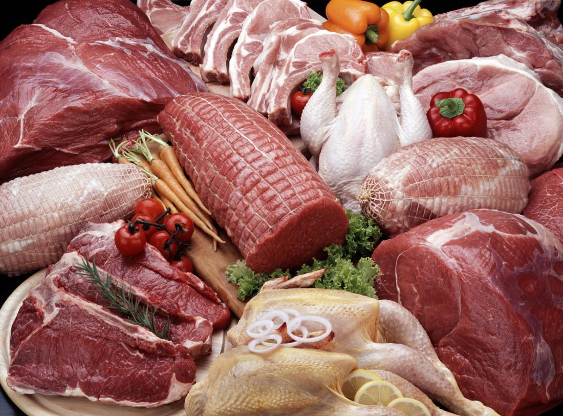 Meat can aggravate acid reflux.