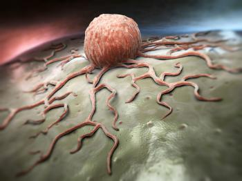 [Illustration of a cancer cell]