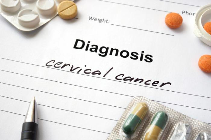 [A cervical cancer diagnosis]