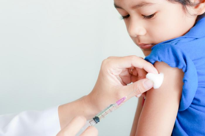 [child being vaccinated]