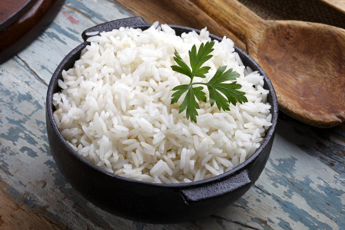 a bowel of gluten free rice.
