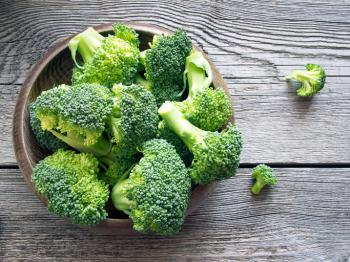 [A bowl of broccoli]