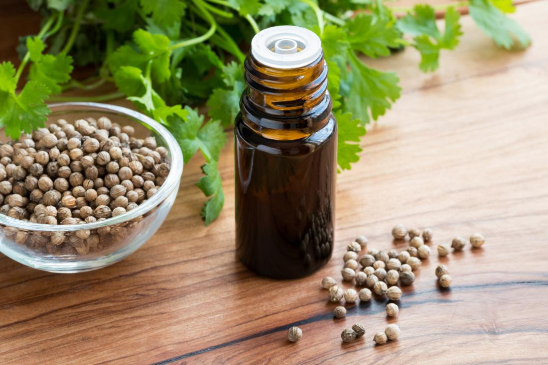 Coriander seed essential oil for diabetes