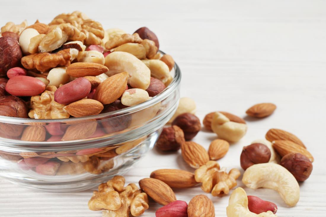 nuts are a snack for diabetes